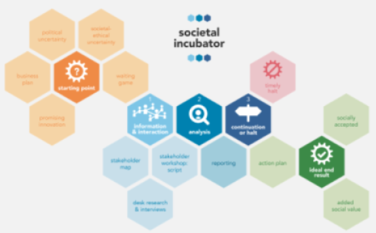 Roadmap of the societal incubator