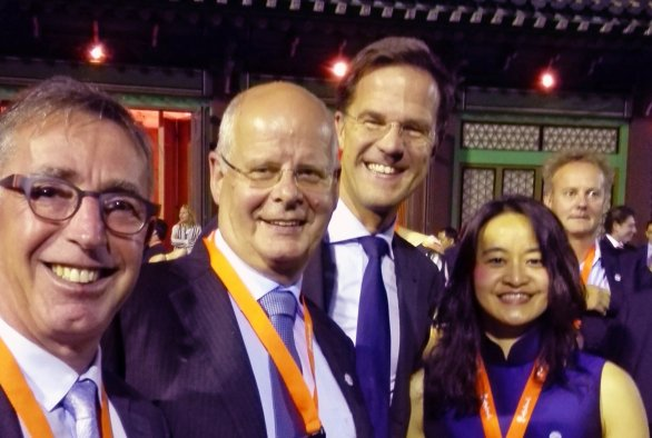 Dutch Prime Minister Rutte pays attention to International Poultry Expertise Centre (IPEC) project