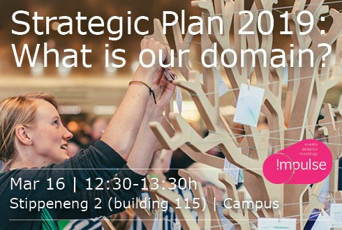 Strategic Plan 2019: What is our domain?