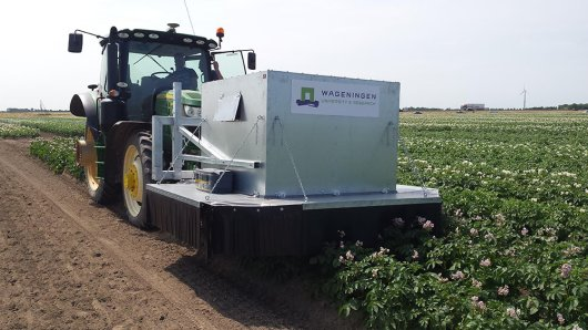 Imaging module, for identification of virus-infected potato plants