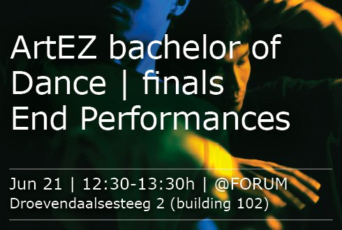 ArtEZ Bachelor of Dance - finals