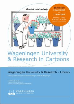 WUR in Cartoons, 3 April until 1 June 2017