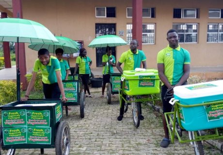 Veg-on-wheels: ready-to-cook vegetables for Nigerian consumers