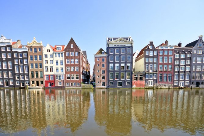 Amsterdam is one of the study areas for assessment of the use of urban surface water and functional quality of the water system.
