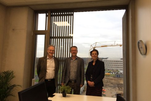 WUR President Louise Fresco visits Yili Innovation Center Europe at Wageningen Campus