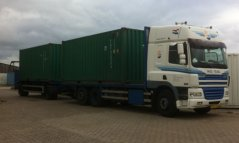Two containers with equipment for the upcoming Antarctica expedition are ready to go on Texel.