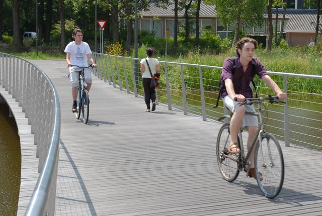 Cycling is the way of transport in Wageningen