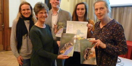 Bee report presented at Zeist Town Hall
