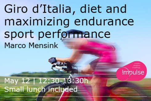 Lunch lecture door Marco Mentink: Giro d'Italia, maximizing endurance sport performance