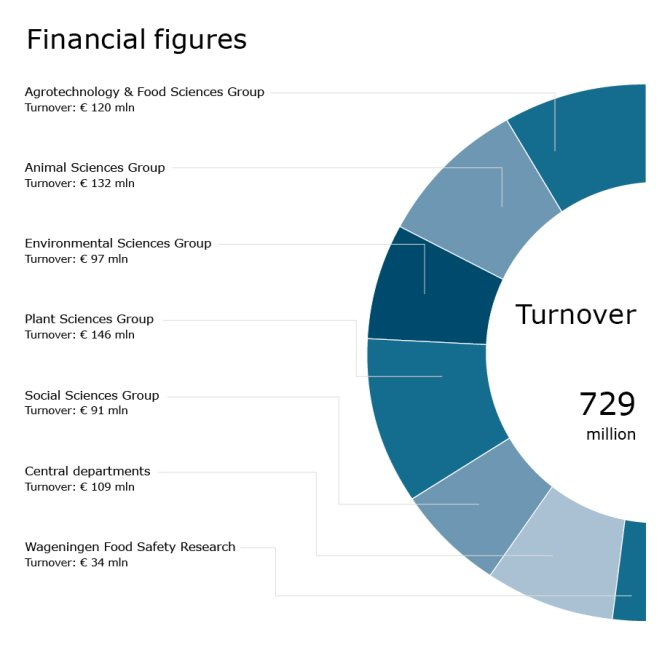 Financial figures (turnover)