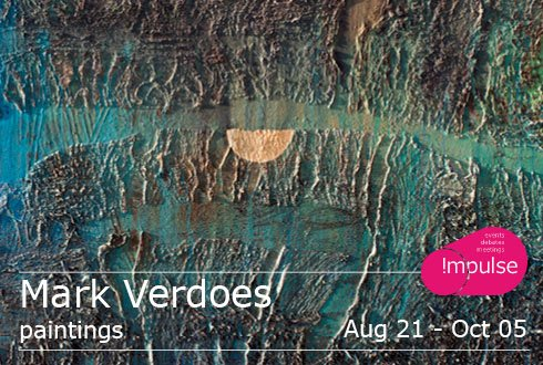Expositie 'paintings' van Mark Verdoes in Impulse