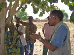 The elder of a village just outside Park W (Benin) tells us how the life in the village is influenced by the park.