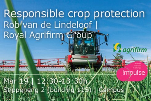 Responsible crop protection