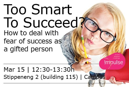 Too Smart To Succeed? How to deal with fear of success as a gifted person