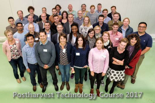 Postharvest Technology Course, participants 2017