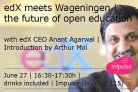 edX meets Wageningen, the future of open education