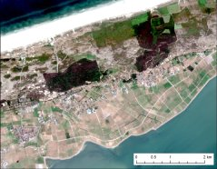 Satellite Image Terschelling 15 July