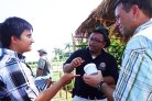 Cooperation in providing information to smallholders in Indonesia