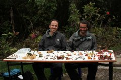 mycologists in the field photo by L Becking