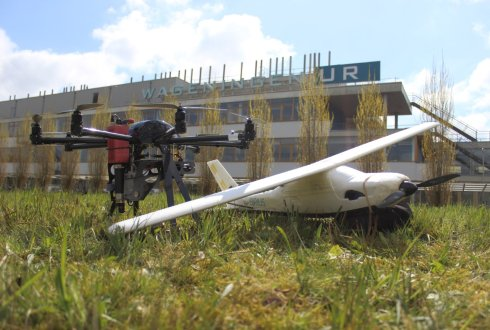 Wageningen University & Research Unmanned Aerial Remote Sensing Facility (UARSF)