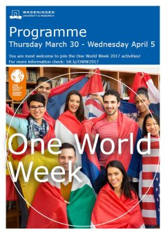 Programme One World Week 2017