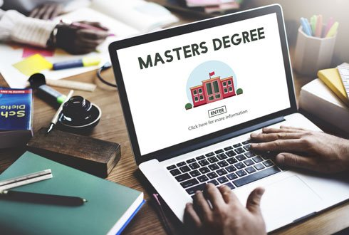 Be a student for a day online Master