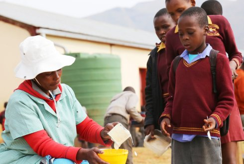 The shift towards healthier food choices for children in Africa