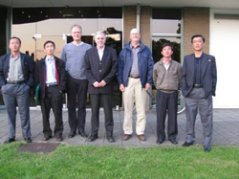 The DPRK participants of the International Potato Course in 2009