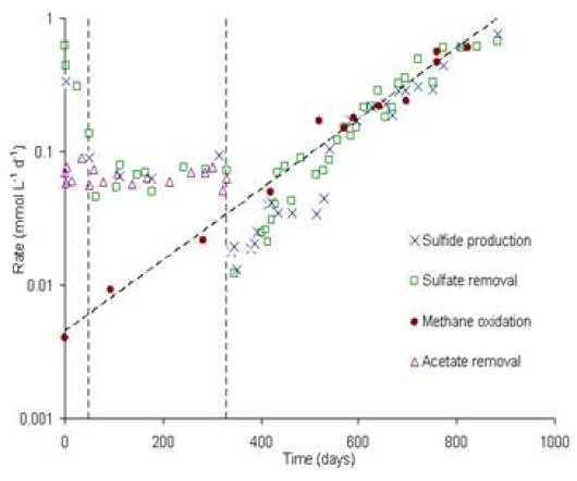 Anaerobic Methane Oxidation For Biological Sulfate