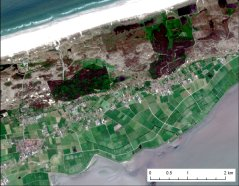 Satellite Image Terschelling 26 May