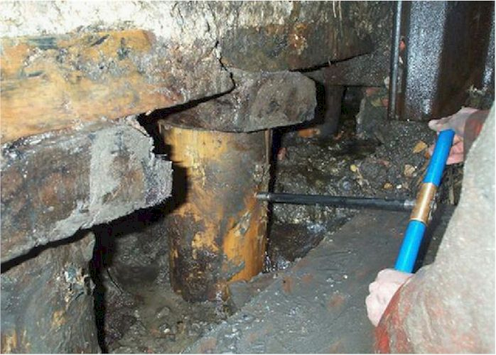 Dating and dendroprovenancing of wooden foundation piles wur for Wood piling foundation