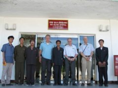 Visit to the potato research institute at Taehongdan in August 2009