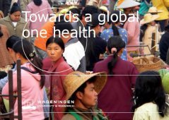 Op naar Global one health