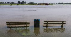 Flooding of the IJssel river