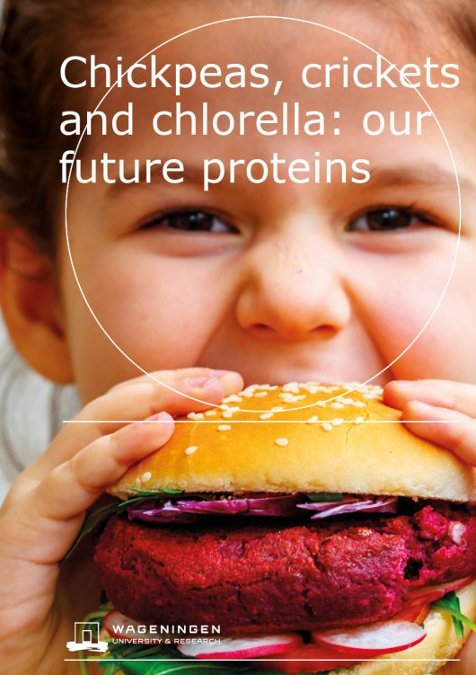 Cover Chickpeas, crickets and chlorella: our future proteins