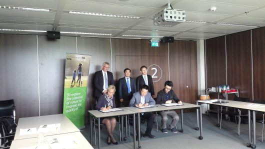 LoI signed between AgriGarden, Dongying Hi-Tech Zone and Wageningen Academy