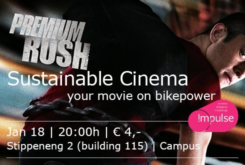 The Sustainable Cinema: Premium Rush (2012)