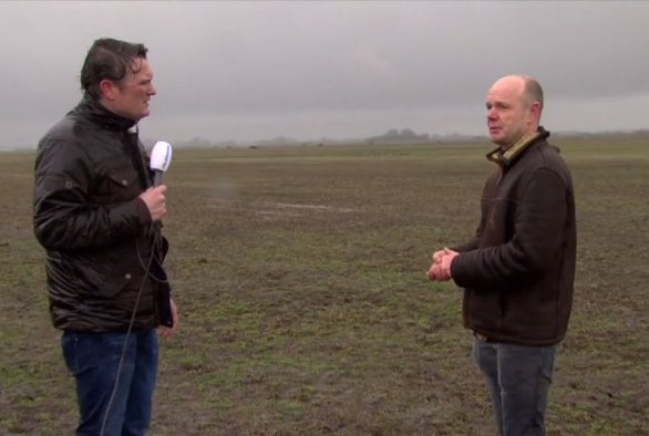 TV: Gerbert Roerink over de muizenplaag in Friesland