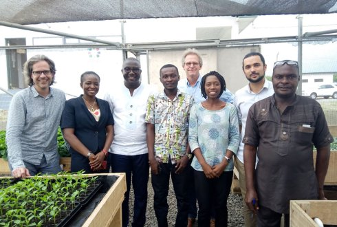 Improving all-year availability of safe and fresh vegetables in Ghana