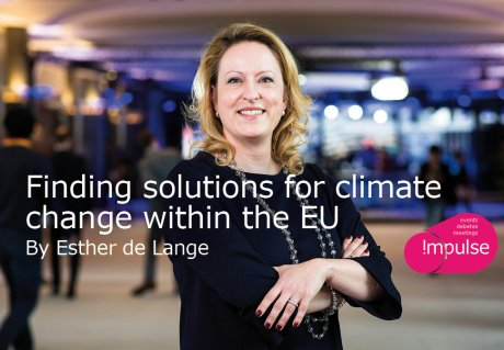 Finding solutions for climate change within the EU, by Esther de Lange