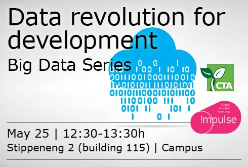 Big Data Seminar Series: Data revolution for development