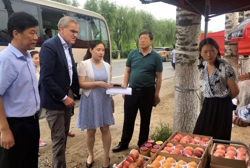 Trip to China: integrated solution to rural complex development is in urgent need