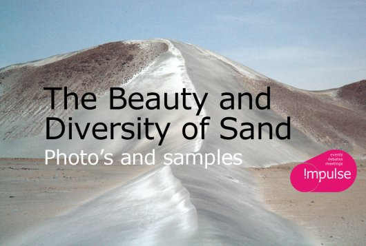 The Beauty and Diversity of Sand