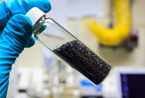 Granular Activated Carbon in Capacitive Microbial Fuel Cells