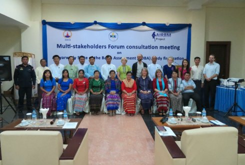 Consulting stakeholders in Myanmar
