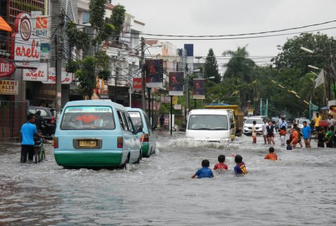 Economic approaches for flood risk reduction in Jakarta