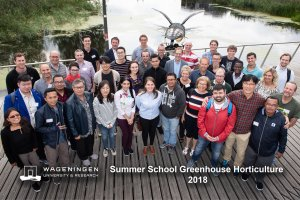 Summer School Greenhouse Horticulture, 2018 edition