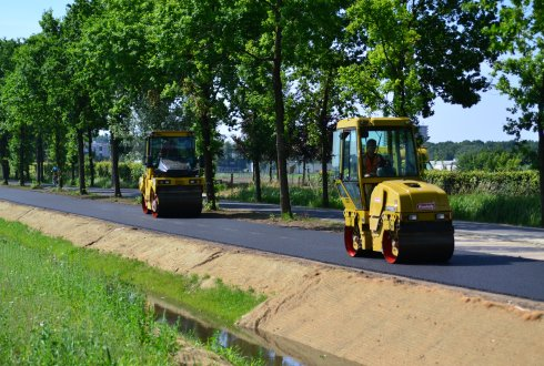 Natural binder lignin enables bitumen-free asphalt