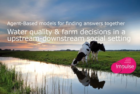 Agent-Based models for finding answers together; Downstream and Upstream Farmers For the Environment or Economy