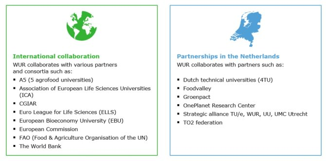International collaboration - Partnerships in the Netherlands
